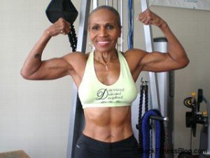 "Ernestine Shepherd - world""s oldest bodybuilder at 75 years old."